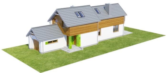 Projekt domu DM-6555 - model