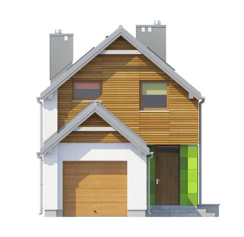 Projekt domu DM-6555 - elewacja
