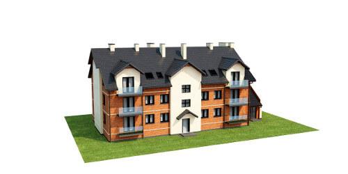 Projekt domu DM-6487 B - model