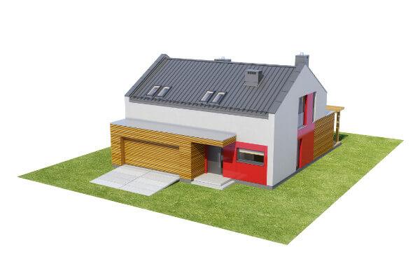 Projekt domu DM-6557 - model