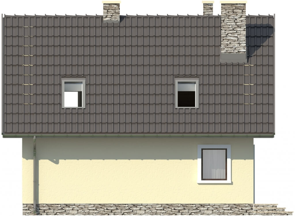 Projekt domu DM-6268 - elewacja