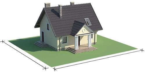 Projekt domu DM-6268 - model
