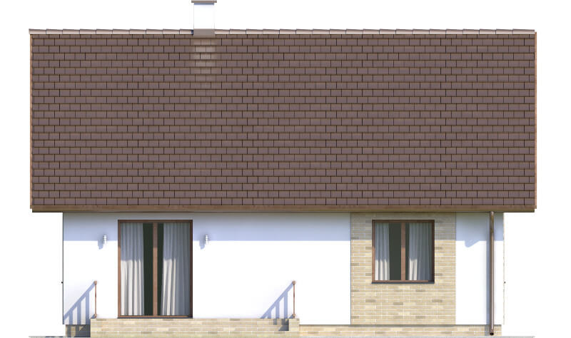 Projekt domu DM-6560 - elewacja