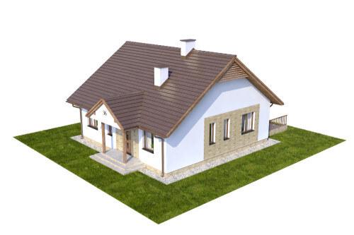 Projekt domu DM-6560 - model