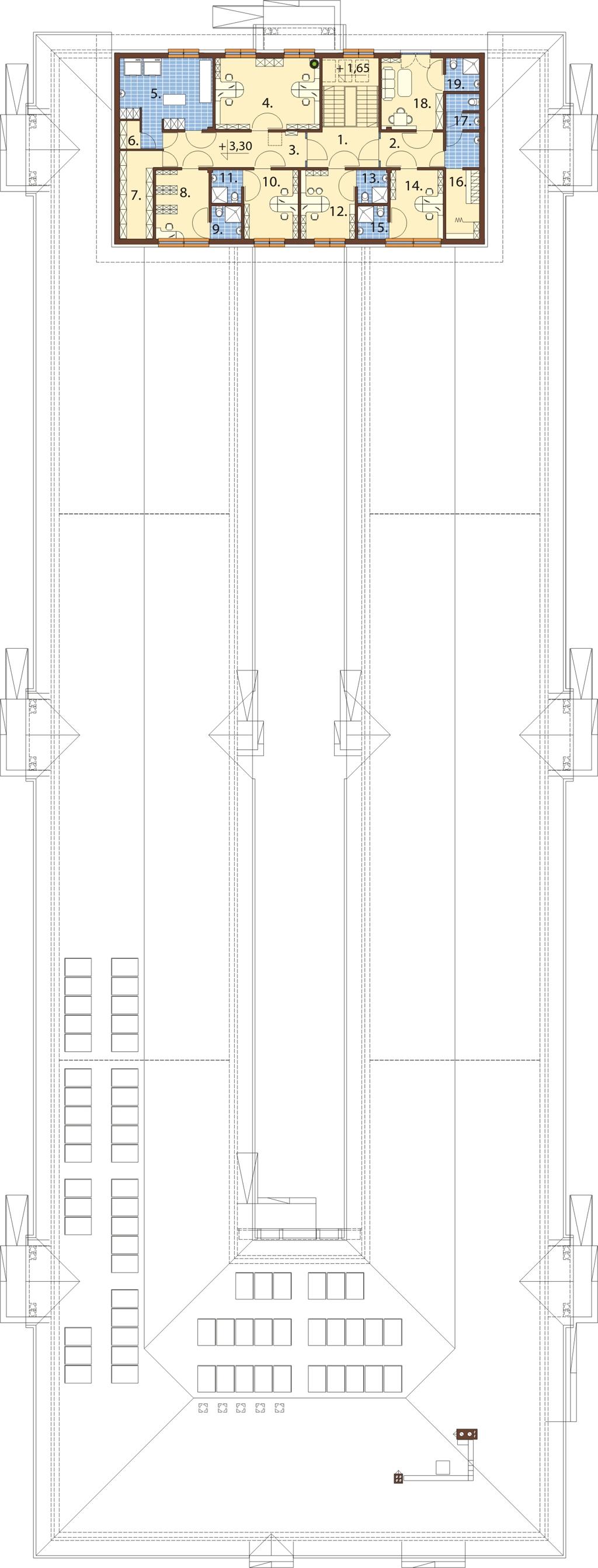 Projekt LK-80 - rzut