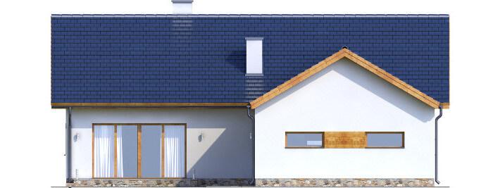 Projekt domu L-6558 - elewacja