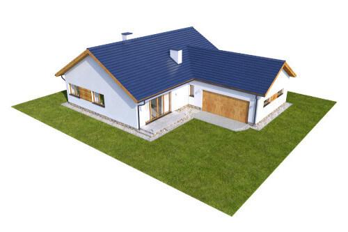 Projekt domu L-6558 - model