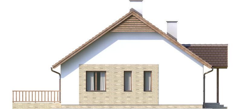 Projekt domu L-6560 - elewacja