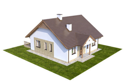 Projekt domu L-6560 - model