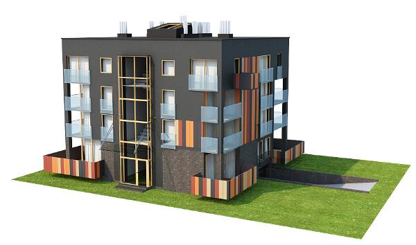 Projekt domu L-6549 - model