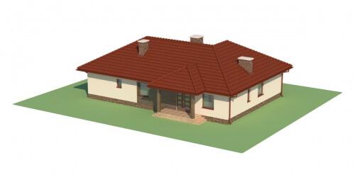 Projekt domu DM-5556 - model