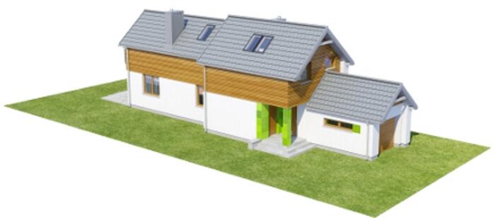 Projekt domu L-6555 - model