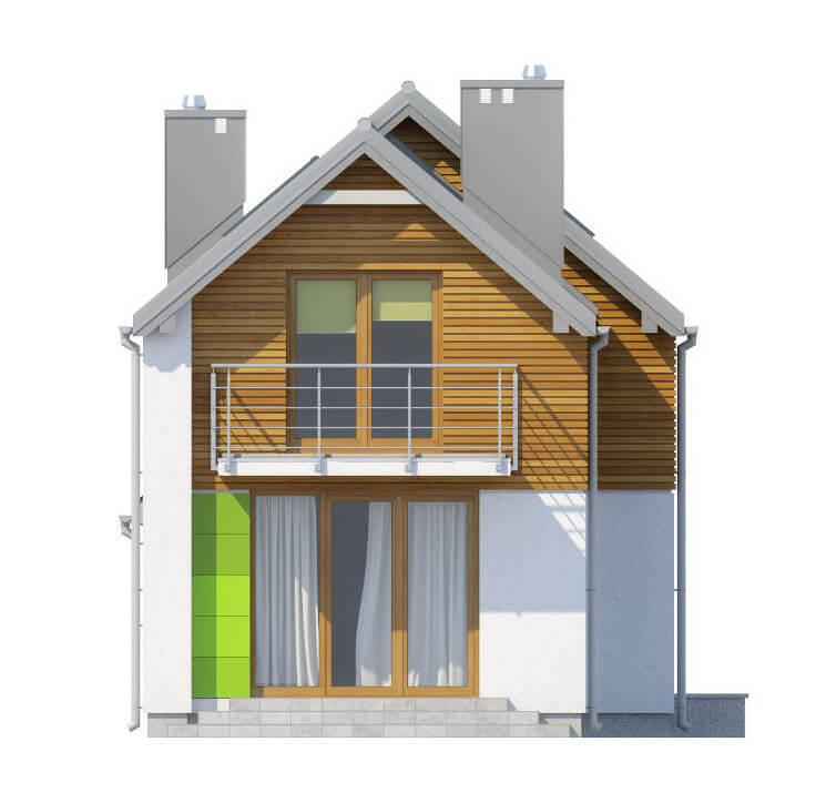 Projekt domu L-6555 - elewacja