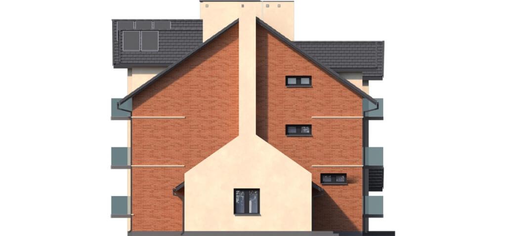 Projekt domu L-6487 B - elewacja