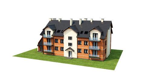 Projekt domu L-6487 B - model
