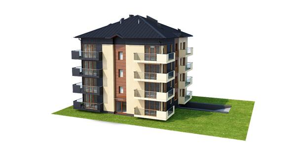Projekt domu L-6496 B - model