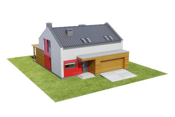 Projekt domu L-6557 - model