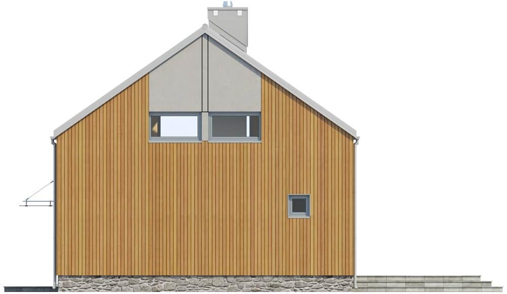 Projekt domu DM-6562 - elewacja