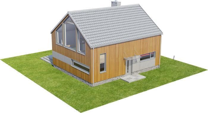 Projekt domu DM-6562 - model