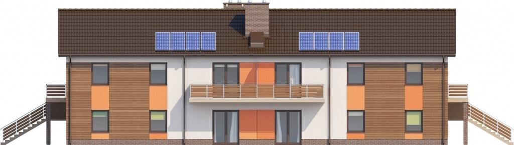 Projekt domu DM-6563 - elewacja