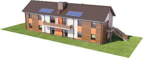 Projekt domu DM-6563 - model