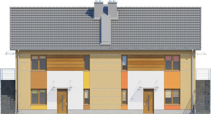 Projekt domu DM-6567 - elewacja