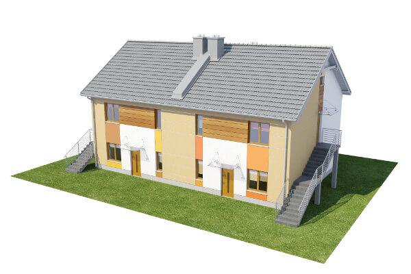 Projekt domu DM-6567 - model