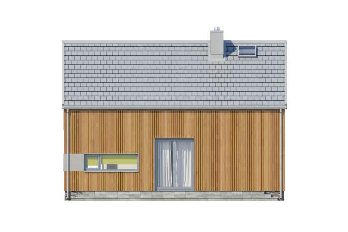 Projekt domu L-6562 - elewacja