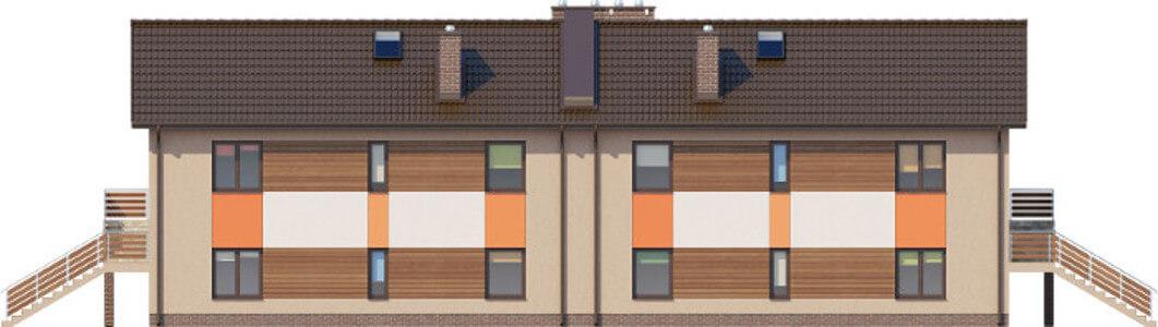 Projekt domu L-6563 - elewacja