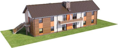 Projekt domu L-6563 - model