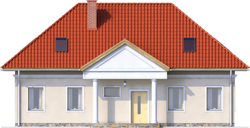 Projekt domu DM-6582 - elewacja