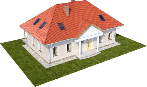 Projekt domu DM-6582 - model