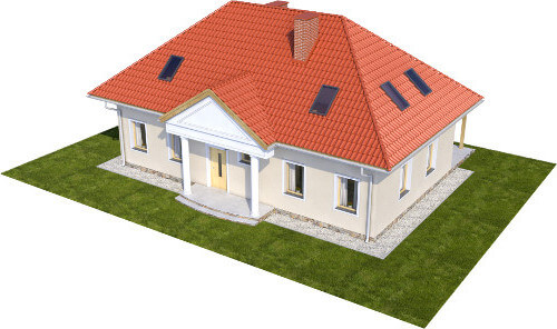 Projekt domu L-6582 - model