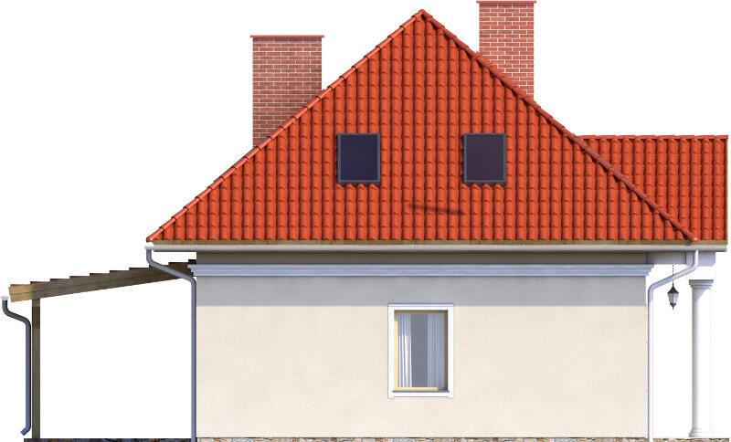 Projekt domu L-6582 - elewacja