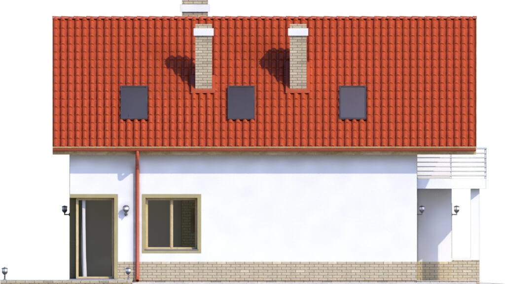 Projekt domu DM-6568 - elewacja