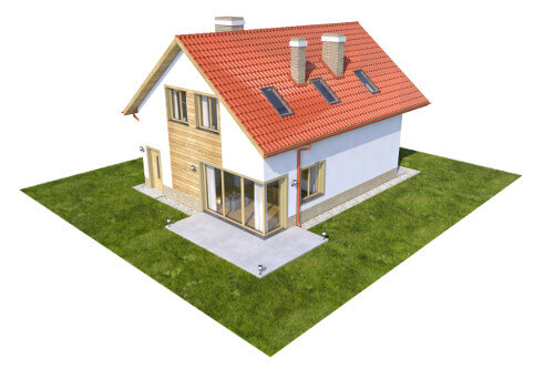 Projekt domu DM-6568 - model