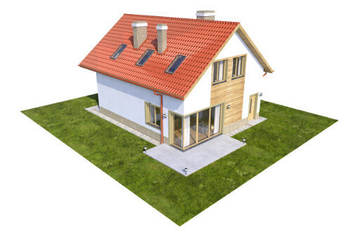 Projekt domu L-6568 - model