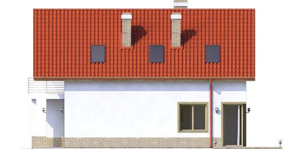 Projekt domu L-6568 - elewacja