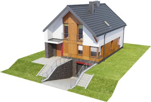 Projekt domu DM-6594 - model