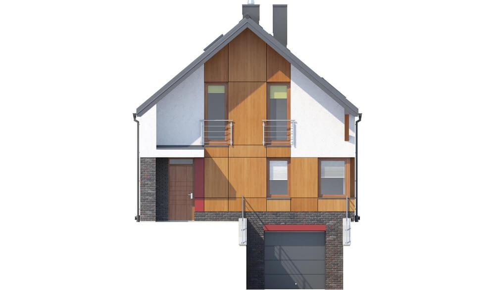 Projekt domu DM-6594 - elewacja