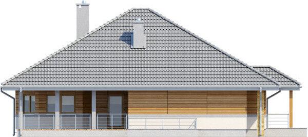 Projekt domu DM-6584 - elewacja