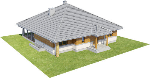 Projekt domu DM-6584 - model