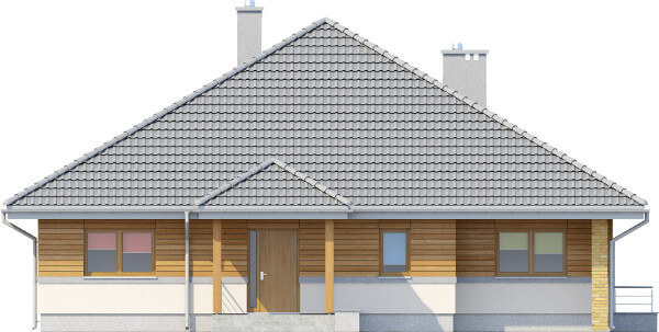 Projekt domu L-6584 - elewacja