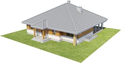 Projekt domu L-6584 - model