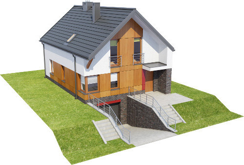 Projekt domu L-6594 - model