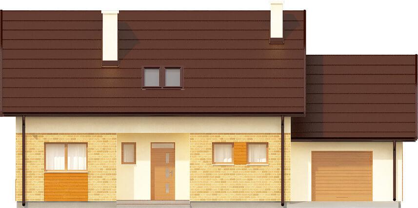 Projekt domu DM-6581 - elewacja