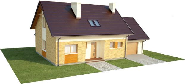 Projekt domu DM-6581 - model