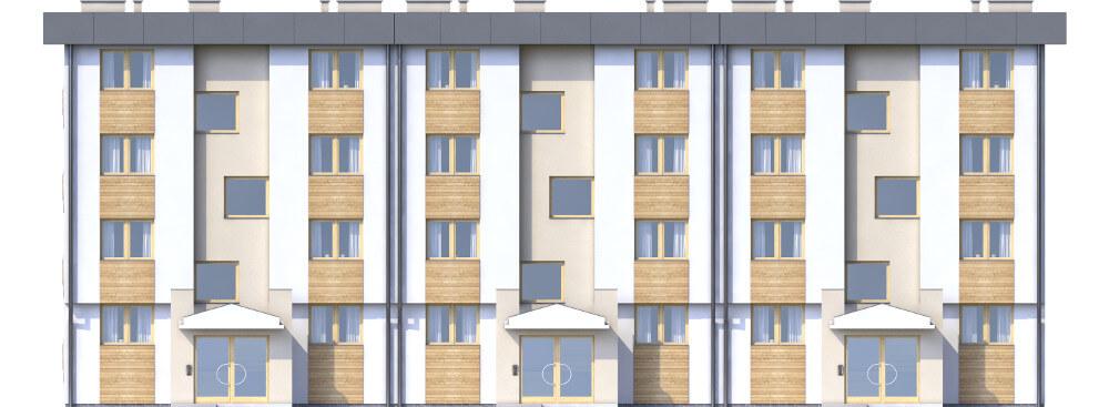 Projekt domu DM-6590 - elewacja