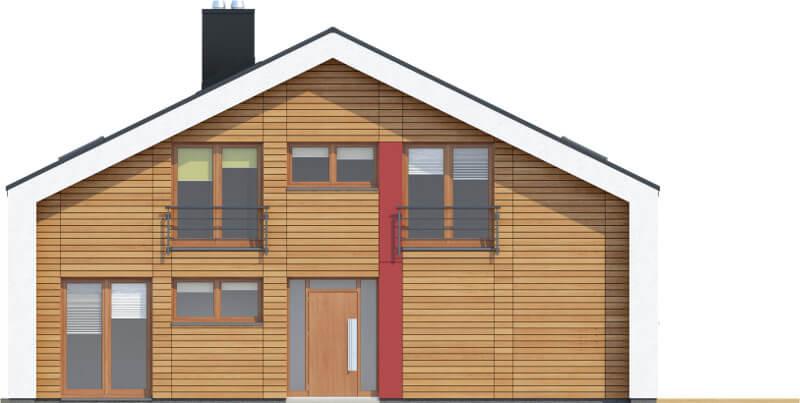 Projekt domu DM-6569 - elewacja