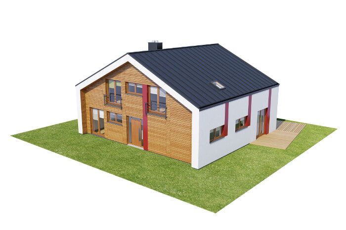 Projekt domu DM-6569 - model